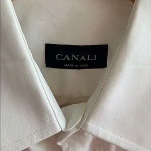 White Canali Dress Shirt